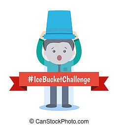 als ice bucket challenge concept - ALS ice bucket challenge ...