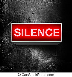 alstublieft, stilte
