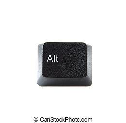 alt, llave, teclado