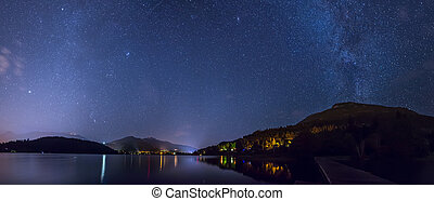 Alta Lake in Whistler Under the Stars