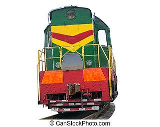 alta velocidade, diesel, trem