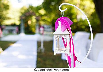 altar, boda, naturaleza