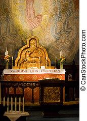 altar, igreja