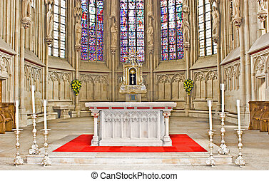 Altar in the chruch