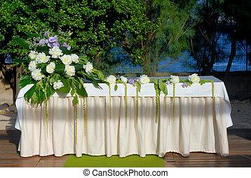 altar, matrimonio