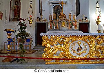 Altar of St. Francisco church, Piran