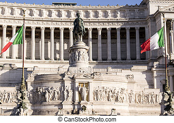 Altar of the Homeland in Rome Italy devoted to all fallen wars
