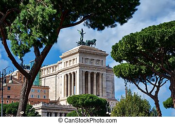 Altar of the Fatherland - Altare della Patria, Rome, Italy