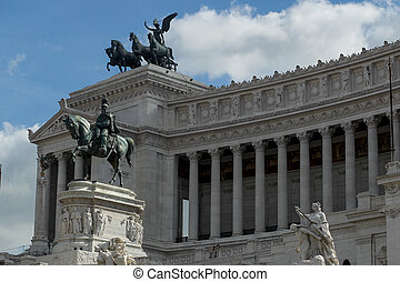 Altar of the Fatherland, Rome, Italy