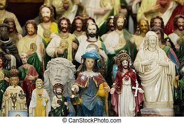 altar, santos, cristo, jesús