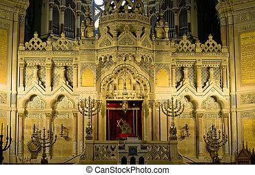 altar, sinagoga, szeged