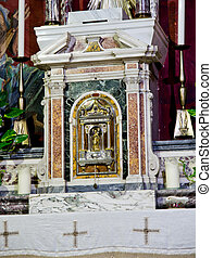 altar tabernacle in marble and baroque and neoclassical ...