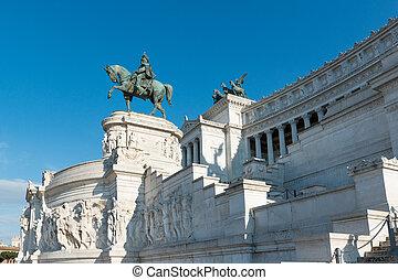 Altare della Patria, or National Monument to Victor Emmanuel II, Rome, Italy