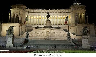 """""""Altare della Patria, Rome, Italy, Timelapse, zoom out, 4k"""""""