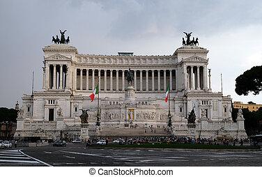 Altare della Patria, Venice Square, Rome, Italy