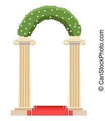 altare, matrimonio, icona