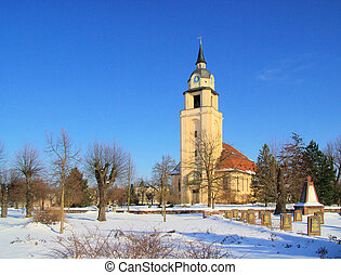 Altdobern church winter 02