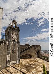 alte kirche, stadt, von, setubal, portugal