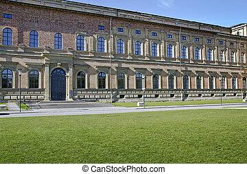 """Alte Pinakothek"" Museum in Munich, Bavaria, Germany"