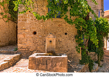 alte stadt, in, provence