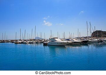 Altea boats marina Greenwich port Alicante