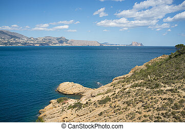 Altea coastline