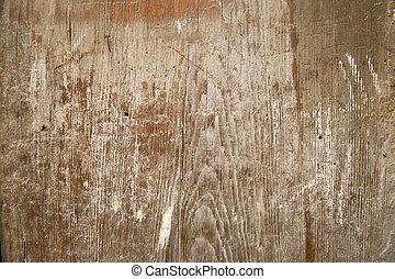 alterato, legno, vernice, grano legno, asse, fondo