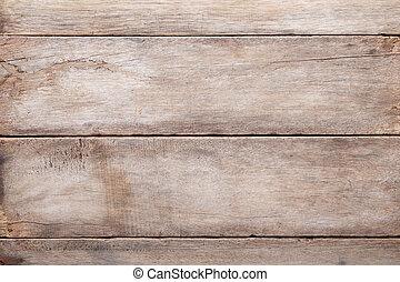 alterato, tavola legno, fondo, vista superiore