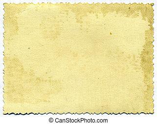 altern, papier, photographisch