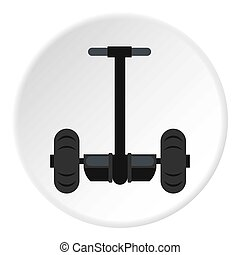 alternativ, fordon, cirkel,  transport, ikon