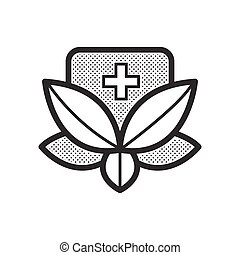 alternativ medicin, ikon