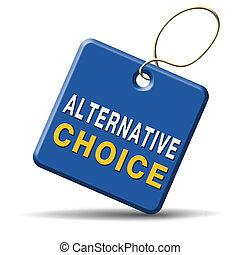 alternativa, opción