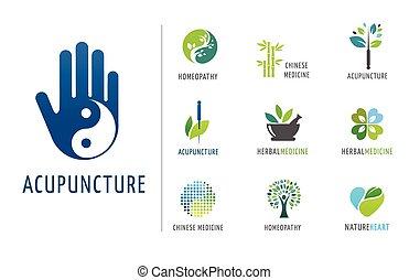 Alternative, Chinese medicine and wellness, yoga, zen concept
