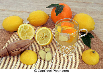 Alternative Cold Remedy - Alternative cold remedy with...