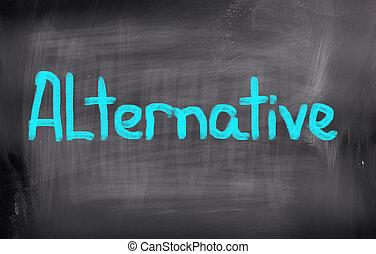 alternative, concept