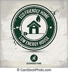 alternative eco home stamp