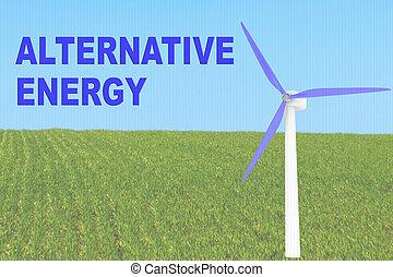 ALTERNATIVE ENERGY concept