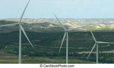 """Alternative energy generation, nature conservation. Wind..."