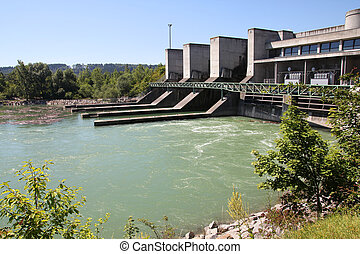 Alternative energy source - Hydro electric dam power plant...