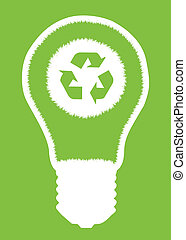 Alternative energy vector background