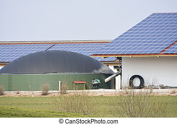 Alternative Energy with Bio Gas - Renewable energy with...