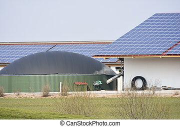 Alternative Energy with Bio Gas - Renewable energy with...