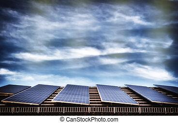 Alternative energy with solar panel system