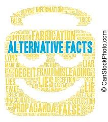 Alternative Facts Word Cloud - Alternative Facts word cloud ...