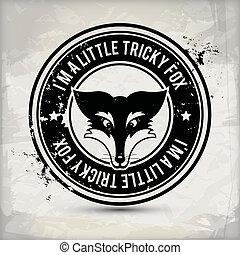 alternative fox stamp