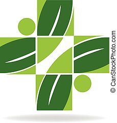 Alternative health care logo