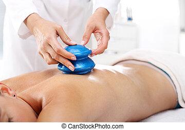 Alternative medicine. Massage