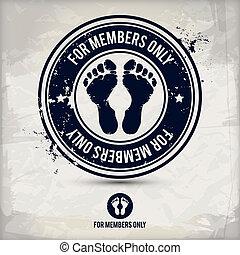 alternative membership stamp