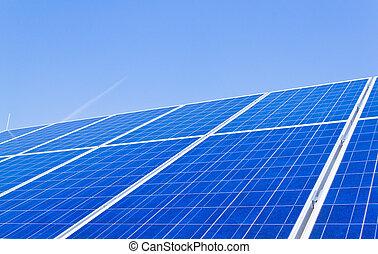 alternative solar energy. solar energy power plant