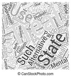 Alternative Therapies Word Cloud Concept